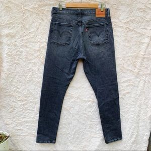 Levi's Vintage 501 Dark Gray Button Fly Jeans